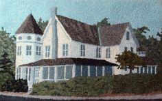 29 Lake Avenue, designed and hooked by John Flournoy