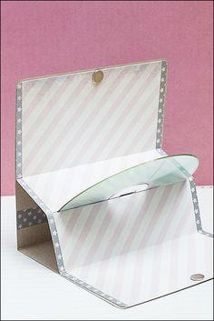 Hülle für CDs, Geschenkkarten, Gutscheine ... aus der Scrapbook-Werkstatt
