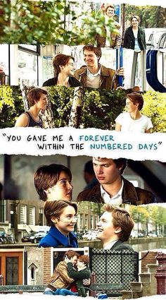charming life pattern: the fault in our stars - quote - book - movie - jo...