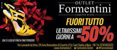 ULTIMISSIMI GIORNI DI SALDI! Vi aspettiamo da #FormentiniOutlet! #Formentini #Shoes #fashion #WomanShoes