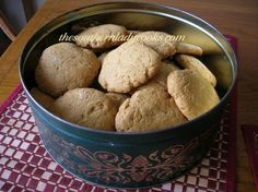 Old Fashioned Soft Molasses Cookies  |  The Southern Lady Cooks