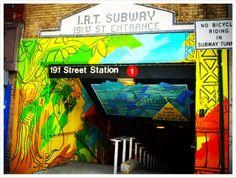Washington Heights subway entrance