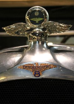 Duesenberg Hood Ornament...Re-Pin brought to you by Agents  of #ClassiccarInsurance at #HouseofInsurance in #Eugene
