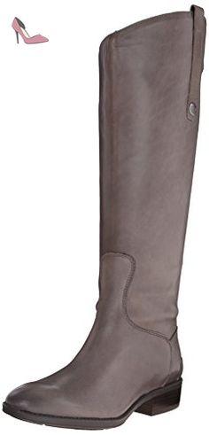 Sam Edelman Penny, Bottes pour Femme - gris - gris, 36 2/3 - Chaussures sam edelman (*Partner-Link)