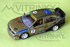 Model od firmy FALM,  model 1:43, ŠKODA OCTAVIA Cup r. 2000 team Bohemia Sekt