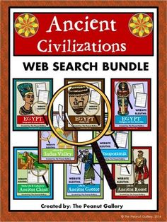 Interactive notebook ancient civilizations unit 1 geography my your students will become web detectives when they discover answers to questions about ancient civilizations in these web sleuth activities fandeluxe Gallery