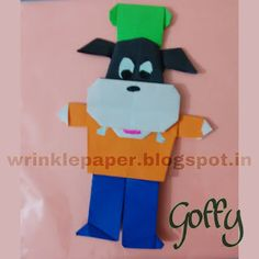 Wrinkle on Paper: Once again Disney - Goofy or Goffy