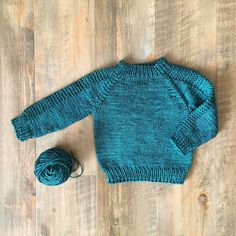 I love how this turned out! Such a quick knit too.  Pattern: Flax by @tincanknits  Yarn: Sweet Fiber Cashmerino Worsted  #sweetfiberyarns #flaxsweater #tincanknits #cashmerinoworsted #handdyedyarn #knittersofinstagram #knitstagram #knitting_inspiration #knitting #knit #babyknits by sweetfiber