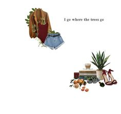 """""""Red Trees~"""" by brendafufu ❤ liked on Polyvore featuring Yves Saint Laurent, Pier 1 Imports, American Apparel, Melissa, Crate and Barrel, WearAll, Dot & Bo and Christian Dior"""