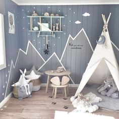 25 Fun Grey Design And Decorating Ideas For Boys Playroom