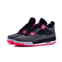 buy popular 0ed60 daa67 Buy 2017 Girls Air Jordan 4 Black Grey Hyper Pink For Sale Online from  Reliable 2017 Girls Air Jordan 4 Black Grey Hyper Pink For Sale Online  suppliers.