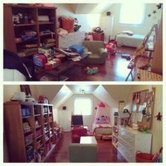 Playroom turned bedroom! #twirled