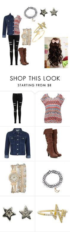 """Untitled #129"" by katie-odoms ❤ liked on Polyvore featuring Miss Selfridge, M&Co, Topshop, Forever 21, maurices, Khai Khai and Sydney Evan"