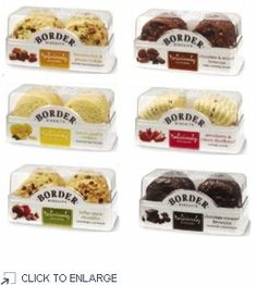 Border Biscuits Deliciously Different Collection - 6 PACK