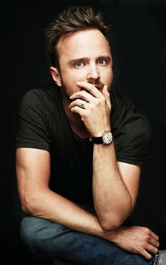 Aaron Paul as Jesse Pinkman. While I wouldn't ever be able to date a drug addict, or a dealer, Aaron Paul's portrayal of Jesse is great, and he's just so. damn. cute.