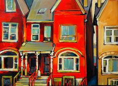 """Saatchi Online Artist: jerzy werbel; Acrylic, 2010, Painting """"Toronto """""""