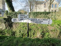 Portesham Finger Post Dorset