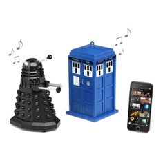 Doctor Who Bluetooth Speakers