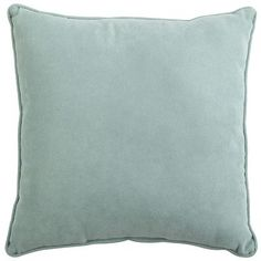 Calliope Pillows - Maui. Pier One; $30. These match the Calliope Curtain Panels and are supposedly soft and suede like but also weather resistant.