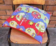 Custom personalised cushion, reverse