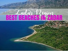 Best Beaches In Zadar County | Croatia Travel Blog - Chasing the Donkey  ||  Zadar County lies in the middle of the Croatian coast. Its main city is Zadar, an ancient city with museums, ruins and architecture. Other regional features include the Zadar archipelago, the Velebit Mountains and its beaches. The best beaches in Zadar County are featured in this post. https://www.chasingthedonkey.com/best-beaches-in-zadar-county-croatia-travel-blog/