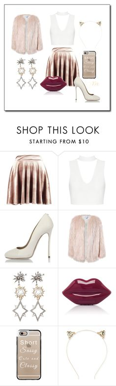"""""""💁..."""" by miss-yve-mari-c-1 ❤ liked on Polyvore featuring Boohoo, Dsquared2, Sans Souci, Lulu Frost, Lulu Guinness, Casetify and Aéropostale"""