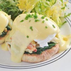 Dungeness Crab Eggs Benedict, my favorite brunch item! Breakfast Time, Breakfast Dishes, Breakfast Recipes, Breakfast Ideas, Eggs Benedict Recipe, Egg Benedict, Crab Recipes, Brunch Recipes, Crab Eggs