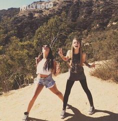Image via We Heart It #adventure #bestfriend #hollywood #outfits #jennxpenn #andrearusset