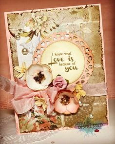 Shabby Chic Valentine's Day Card
