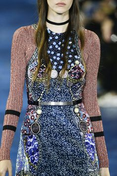 Mary Katrantzou Spring 2016 Ready-to-Wear Fashion Show Details