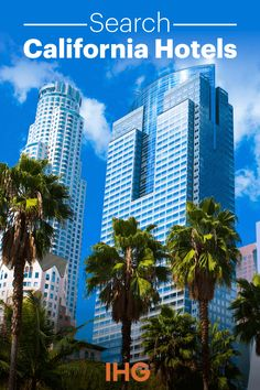 Boasting two out of the top 10 most visited cities in the United States, California is a travel destination for folks in all walks of life. Whatever brings you and your family to California, and IHG Hotel will be nearby to give you a friendly and comfortable rest after you adventure!