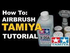 How to Airbrush Tamiya Acrylic Paints Tutorial - Scale Models Airbrush Acrylic Paint, Airbrush Art, Modeling Techniques, Modeling Tips, Revell Model Kits, Scale Tattoo, Lure Making, Air Brush Painting, Face Painting Designs