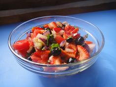 Red, White and Blueberry Salsa