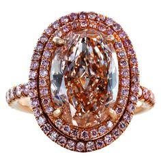 #Pink #Diamond #Rings