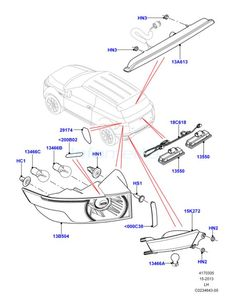 land rover freelander 2 led rear light tail lamp upgrade ... land rover tail light wiring diagram
