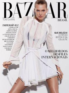 visual optimism; fashion editorials, shows, campaigns & more!: corte seco: toni garrn by david roemer for harper's bazaar brazil april 2015