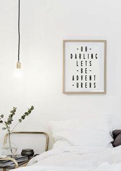 Oh Darling permet d'être Adventureres  Citations par lettersonlove