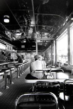 Diner NYC. Cafe life
