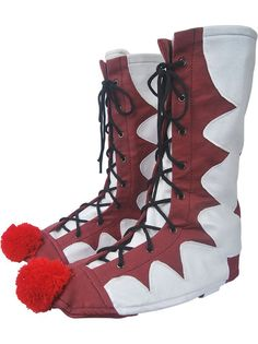 Stephen King's It 2017 film clown Pennywise boots cover cosplay halloween costume supervillain clown jester make-up carnival comic-con costume