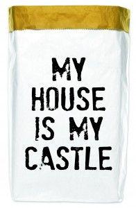 Worek papierowy My house 50x70 cm
