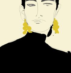 A gallery of fashion images from Rosie Mcguinness Rosie McGuinness is a British illustrator. Modern Art Prints, Wall Art Prints, Art Visage, Illustration Girl, Drawing People, Art Inspo, Line Art, Fashion Art, Art Drawings