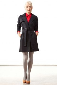 #autumndreamery - The.Brand Super-Chic Navy Tie Waist Trench $400 @ The Dreamery    http://www.the-dreamery.com/Wardrobe/Coats/Super-Chic-Navy-Tie-Waist-Trench
