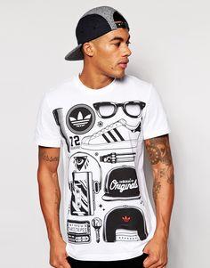 6f01fe75d Adidas Originals Graphics T-Shirt at asos.com