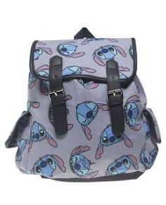 Super cute and lightweight, this canvas backpack features a Stitch print from Disney's Lilo and Stitch&trade
