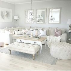Visit the webpage to see more on home decorating tips heart aclick the link Cream Living Rooms, Cozy Living Rooms, New Living Room, Interior Design Living Room, Home And Living, Living Room Designs, Living Room Decor, White Rooms, Living Room Inspiration