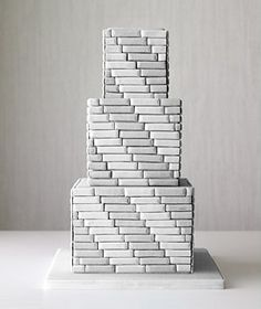 masculine tiered cake