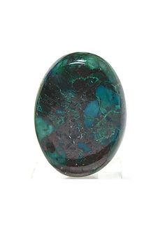 Blue Green Parrot Wing Chrysocolla Calibrated by FenderMinerals…