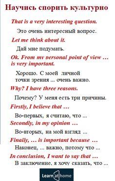 Выражения для спора на английском #english #vocabulary #dispute #английский #спор