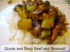 Quick & Easy Beef and Broccoli