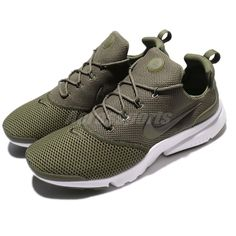 official photos b3125 cbf11 Nike Presto Fly Olive Green White Mens NSW Running Shoes Sneakers 908019-201